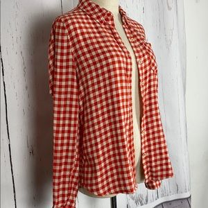 XXI, Button down shirt, flannel optic, size S